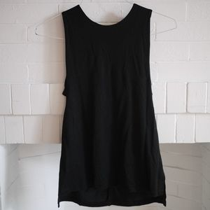 Banana Republic Black Tank w/ Cutout